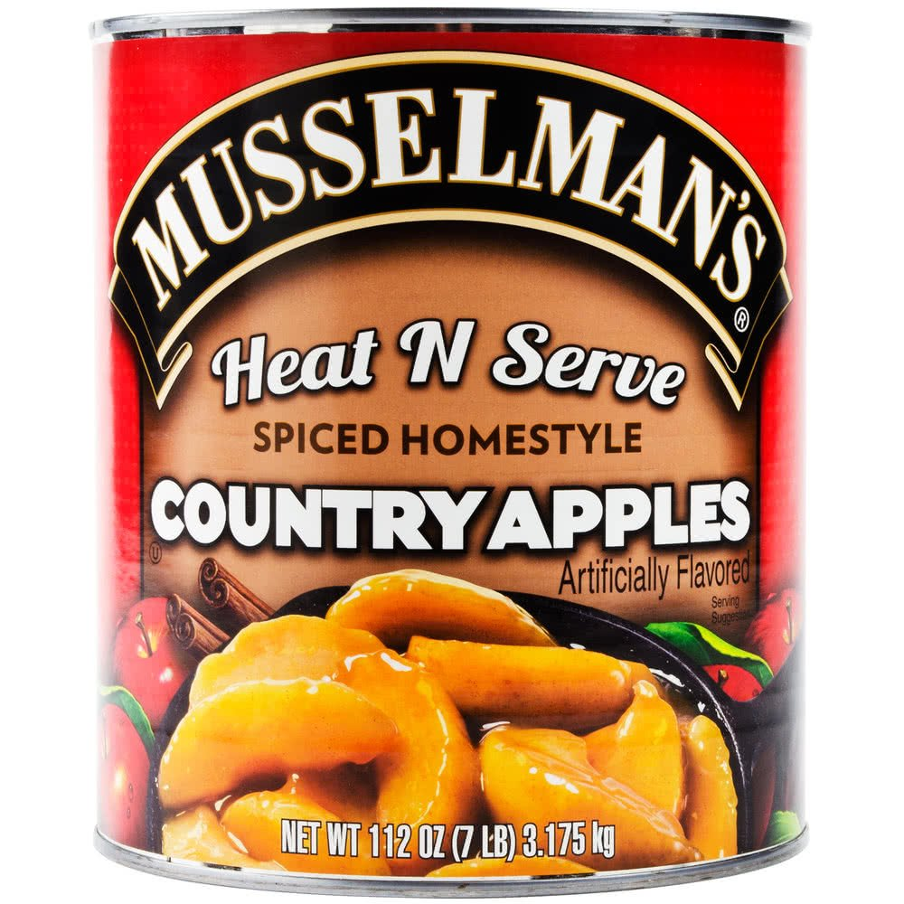 TableTop King #10 Can Heat N Serve Spiced Homestyle Country Apples 6/Case