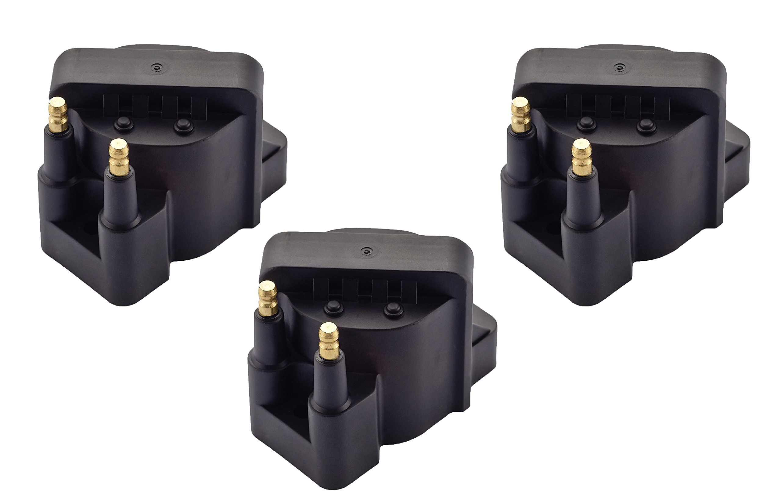 Pack of 3 Ignition Coil Pack for Buick Cadillac Chevrolet Oldsmobile Pontiac Compatible with C849 DR39