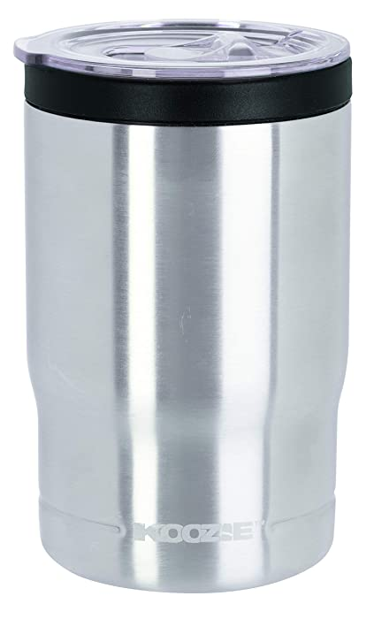 Koozie Stainless Steel Insulated Triple Can Cooler - 12 oz. (Silver)