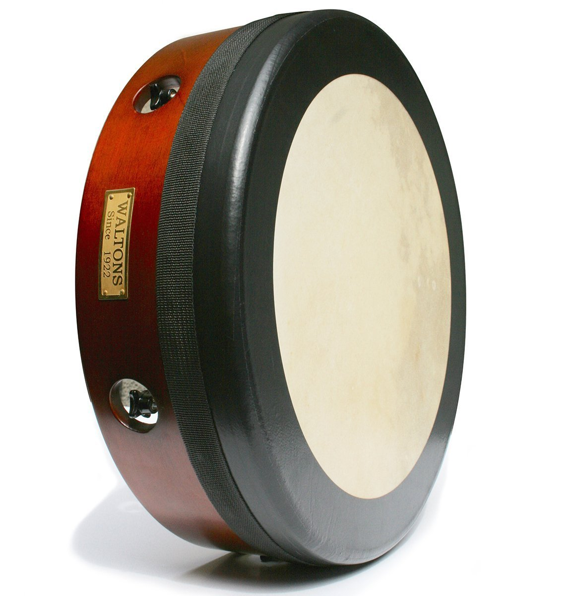 Waltons 14'' Hand Tuneable Bodhran Light Frame - Mahogany (10AWAL-T4144)
