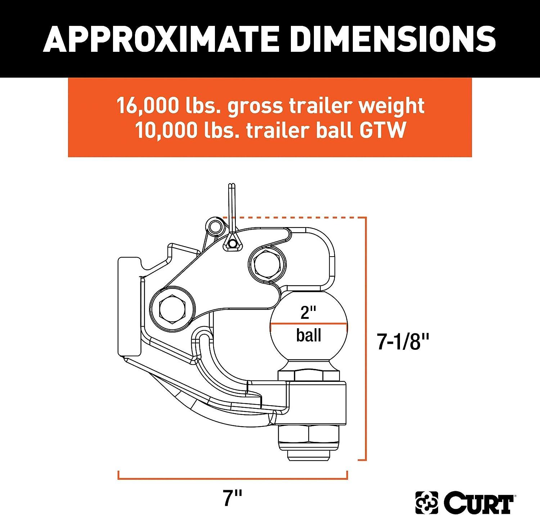 Curt Manufacturing 48328 Towing Wiring
