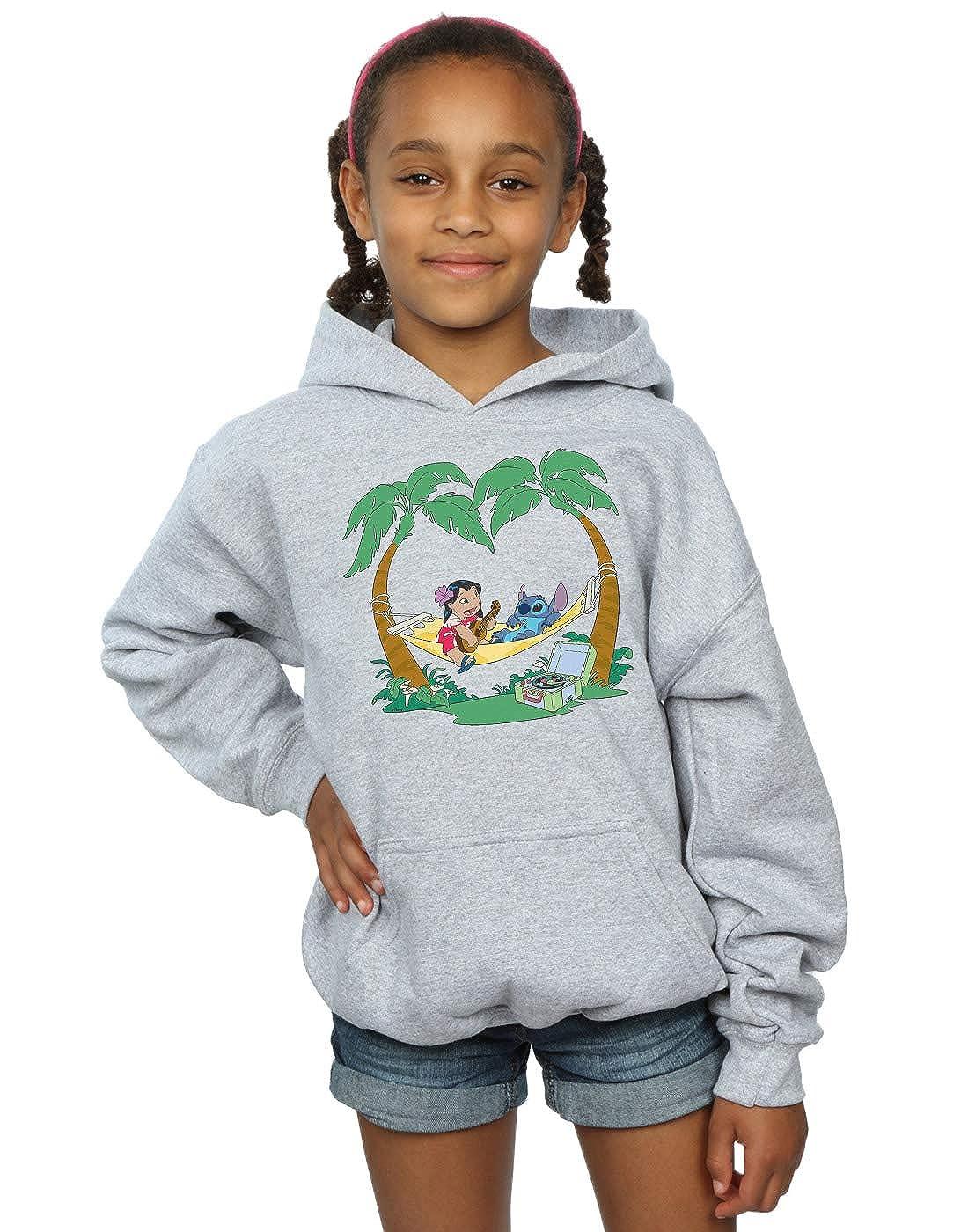 Disney Girls Lilo /& Stitch Play Some Music Hoodie