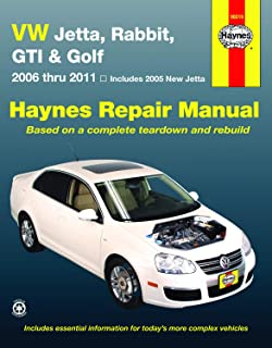 vw jetta, rabbit, gi, golf automotive repair manual: 2006-2011