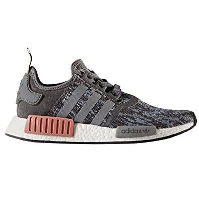 NMD R1 W Ladies in Grey/Raw Pink by Adidas, 5