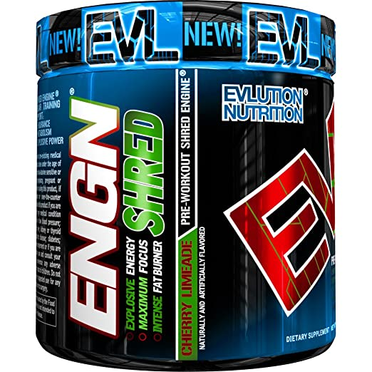 EVLution ENGN SHRED Pre Workout Supplement
