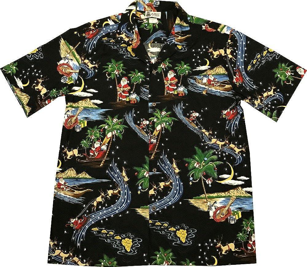 129baf270 Top5: Hawaiian VINTAGE Santa Rudolph Reindeer Christmas Aloha Shirt