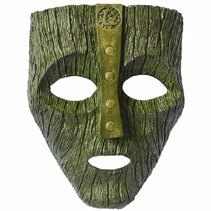 MHSXN La Máscara De Resina Verde Máscara Jim Carrey Película Disfraz Loki Fiesta De Halloween,