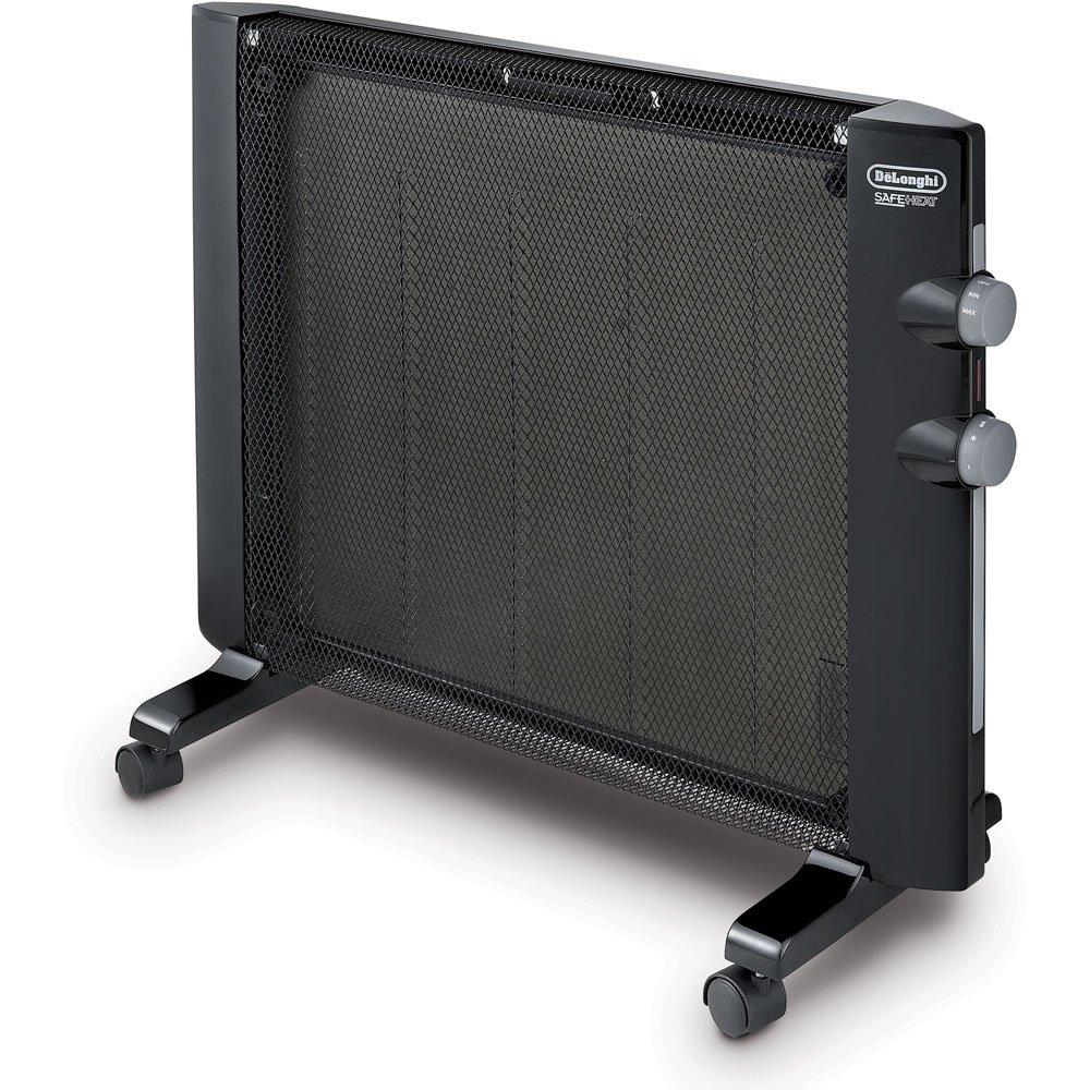 De'Longhi Mica Thermic Panel Heater for dog house with solar