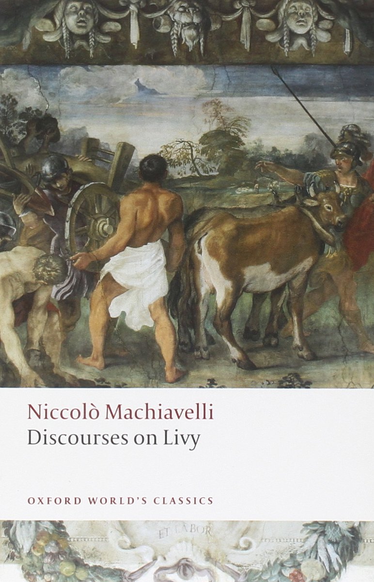 Discourses On Livy  Oxford World's Classics