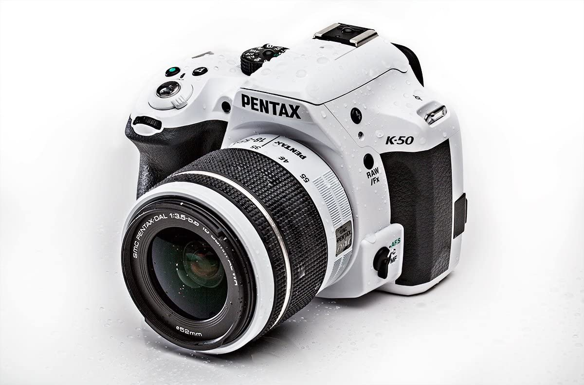 Pentax K50 + 18-55 WR - Kit de cámara réflex Digital con Objetivo ...