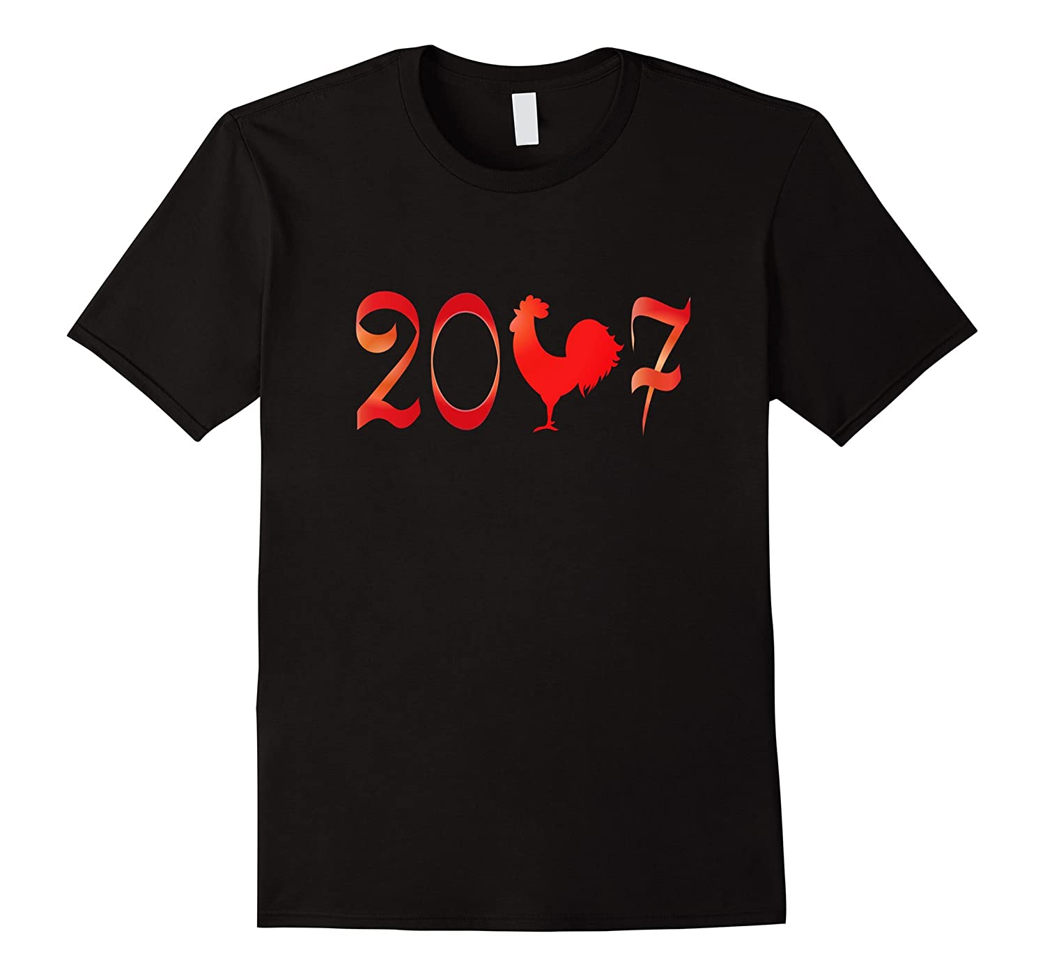 2017 the year of the Rooster New Year T-Shirt-Art