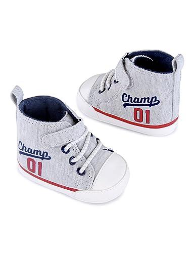 273438ce8 Amazon.com  Child of Mine by Carter s Newborn Baby Boy Champs Hi-Top ...