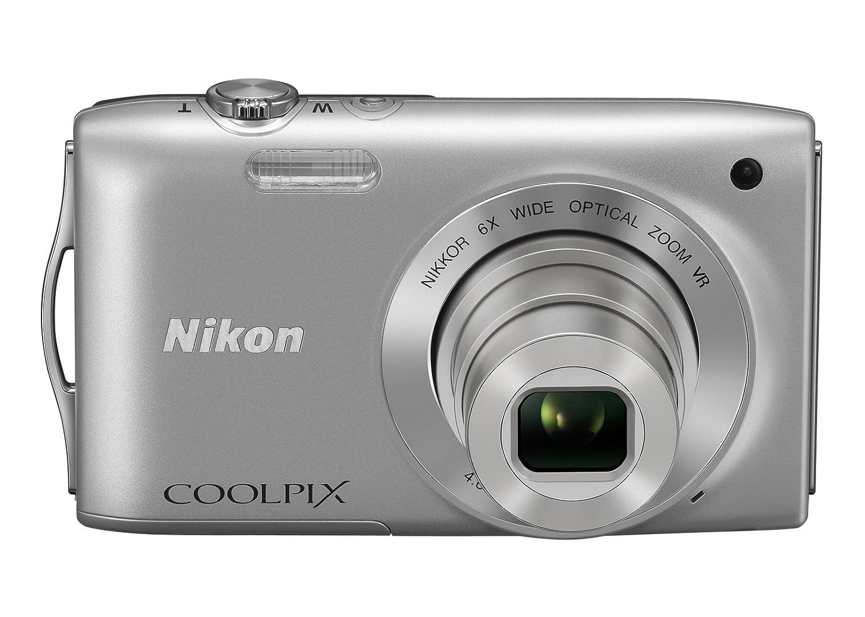 Nikon デジタルカメラ COOLPIX (クールピクス) S3300 クリスタルシルバー S3300SL  クリスタルシルバー B007410HAQ
