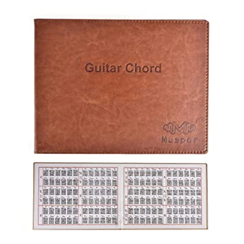Juman634 Muspor Compilations Acordes de Guitarra para Guitarra clásica clásica Eléctrica Portátil Libro de Bolsillo de 6 Cuerdas: Amazon.es: Hogar