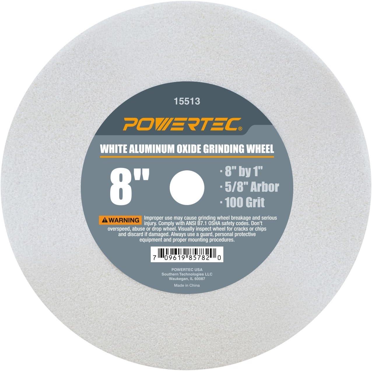 8in x 1in. Norton Grinding Wheel White Aluminum Oxide 150 Grit
