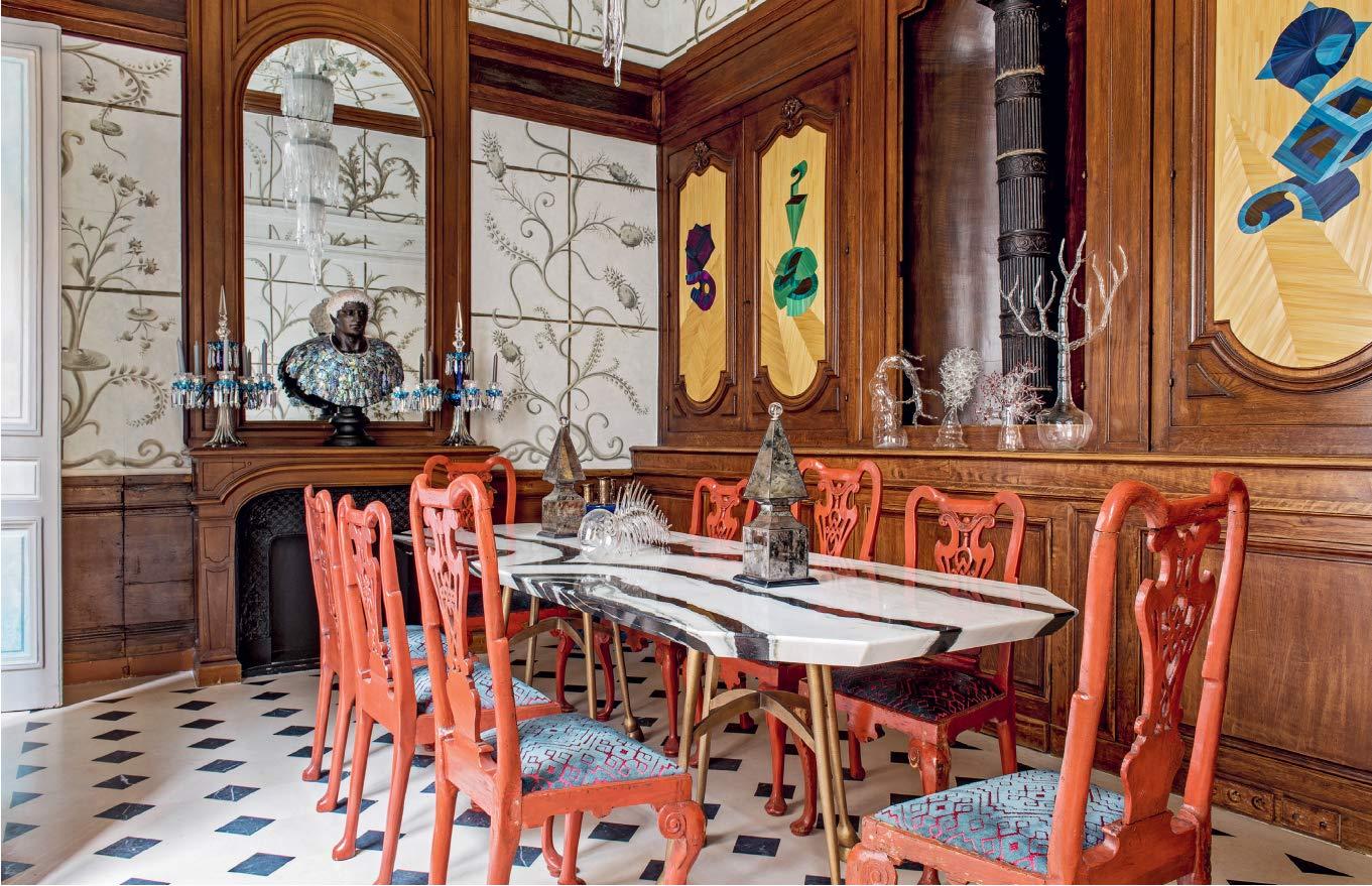 Masculins Singuliers Interieurs Parisiens Styles Et Design