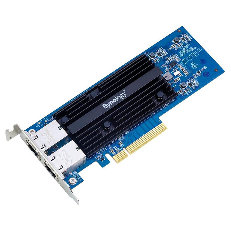 Interno, Al/ámbrico, PCI-E, Ethernet, 10000 Mbit//s, Negro, Azul Accesorio de Red Synology E10G18-T2 Adaptador y Tarjeta de Red Interno Ethernet 10000 Mbit//s