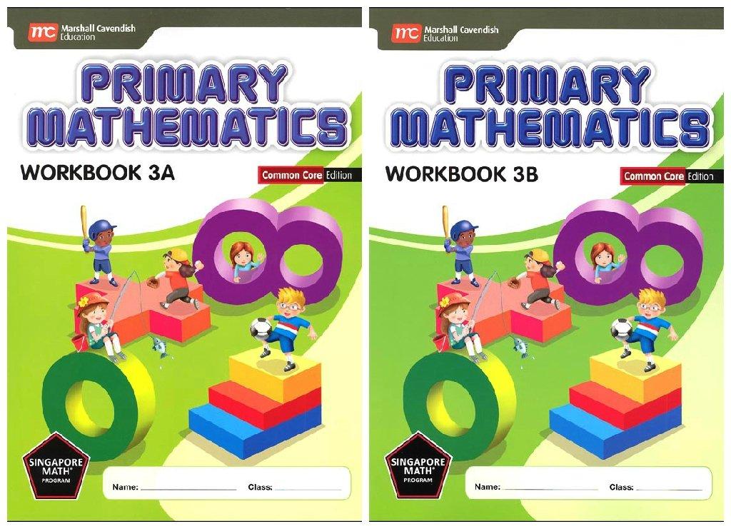 Download Primary Mathematics Workbook Bundle 3A+3B (Common Core Edition) PDF