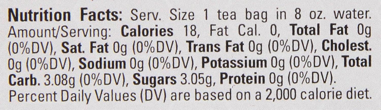 100-Count Tea Bags Davidson/'s Tea FBA-|256124 Davidsons Tea Single Serve Assorted Tea And Honey