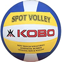 Kobo Spot Volley Rubber Moulded Volley Ball Size 4 (White)