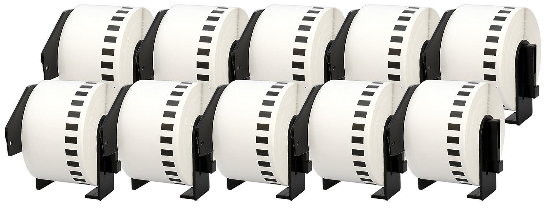 10x DK-11201 29 x 90 mm Adressetiketten (400 Stück Rolle) kompatibel für Brother P-Touch QL-1050 QL-1060N QL-1110NWB QL-1100 QL-500 QL-500BW QL-570 QL-580 QL-700 QL-710W QL-800 QL-810W QL-820NWB B074RQM1B7 | Fuxin