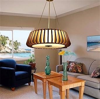 YLTT Kunst Dekoration Hand Gestrickte Pendelleuchte Led Lampe Schlafzimmer  Dekoration Japanische Bambus Material Licht Leuchte