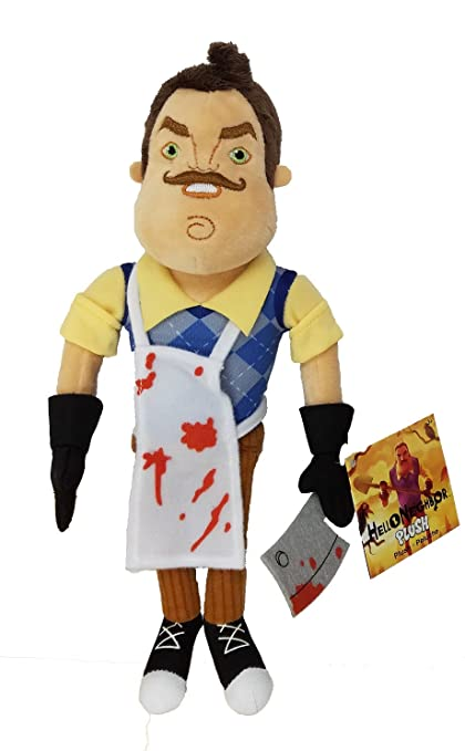 "U.C.C. Distributing Hello Neighbor 10"" Plush Toy - Butcher Neighbor ..."