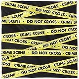 Crime Scene Tape Satin Style Scarf