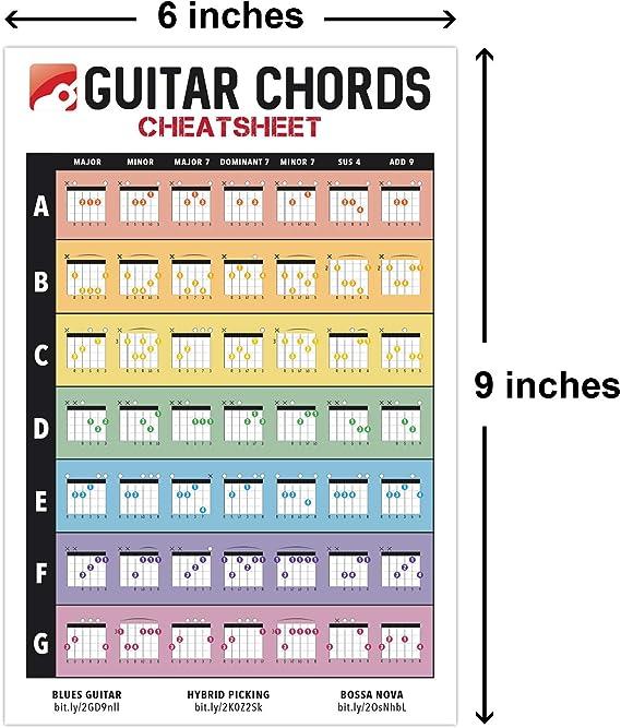 iVideosongs - Chaleco para guitarras (15,2 x 22,8 cm) • Tarjetas ...