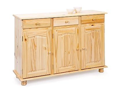 Credenza Per Taverna Usata : Links credenza in pino 43 x 130 87 cm: amazon.it: casa e cucina