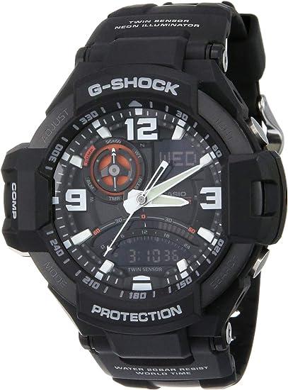 Gショック G-SHOCK CASIO カシオ メンズ 腕時計 スカイコクピット アナデジ GA-1000-1ADR ブラック 海外モデル [時計] 逆輸入品