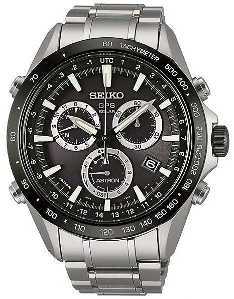 Reloj Seiko Astron Sse011j1 Hombre Negro