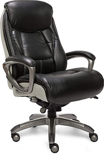 Stupendous Serta Smart Layers Executive Tranquility Office Chair Black Pabps2019 Chair Design Images Pabps2019Com
