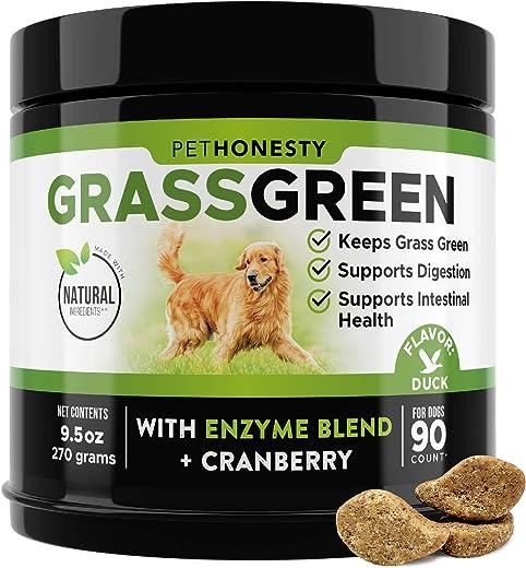 PetHonesty GrassGreen Grass Burn Spot Chews for Dogs - Dog...