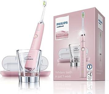 Philips Sonicare Diamondclean Elektrische Zahnburste Mit Schalltechnologie Hx9362 67 Rosa Amazon De Drogerie Korperpflege