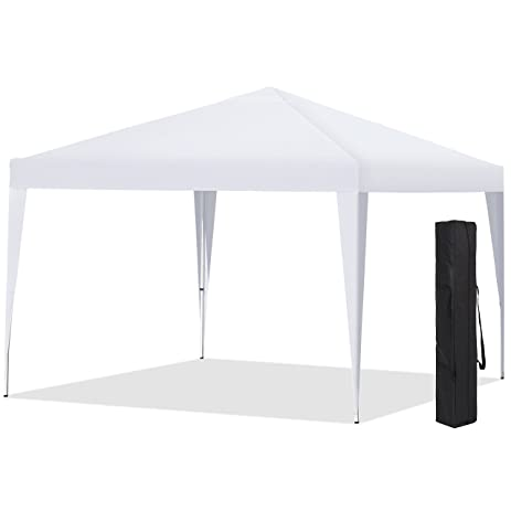 Best Choice Products 10X10 EZ Pop Up Canopy Tent W Carrying Case