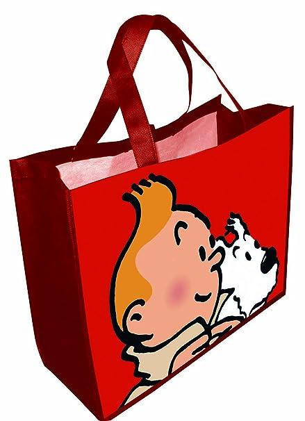 co uk Snowy Red And Bag Tintin Waterproof 45x38x20cm04227Amazon OZiPXku