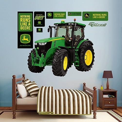 John Deere 7280R Tractor Real Big Fathead Wall Decals