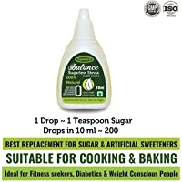 Control D Balance Stevia Sweet Drops | Zero Calorie | Sugar Substitute | Diabetic Friendly Sweetener (10 ml)…