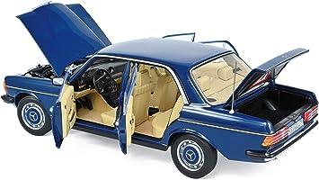 1:18 Norev Mercedes 230 w123 Sedan Blue 1982 New chez Premium-modelcars