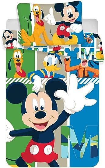 Kk Disney Mickey Mouse Baby Bettwäsche 40 X 60 Cm 100 X 135 Cm