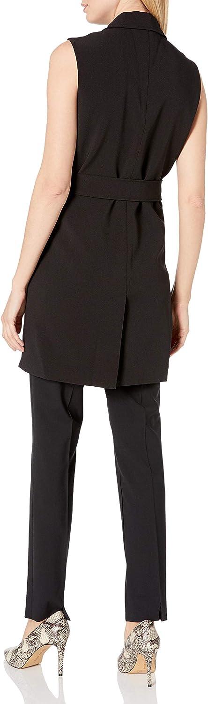 Nanette Nanette Lepore Womens Sleeveless Trench Jacket