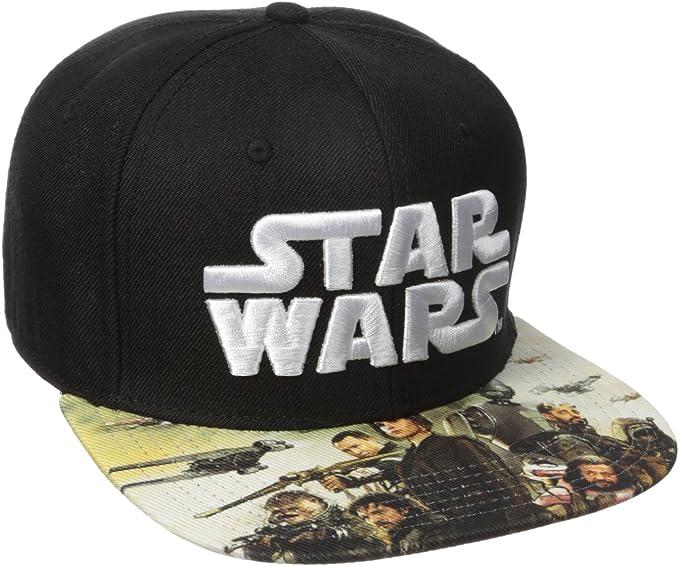 STAR WARS Force Awakens Sublimated Bill Snapback Adjustable Hat Cap New Licensed