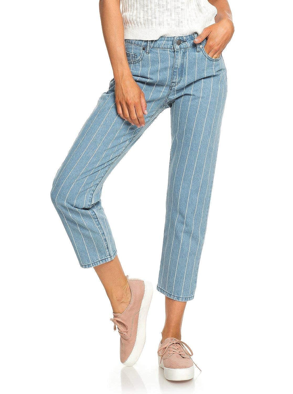 Roxy Womens Like A Boy Relaxed Fit Jeans for Women Erjdp03215