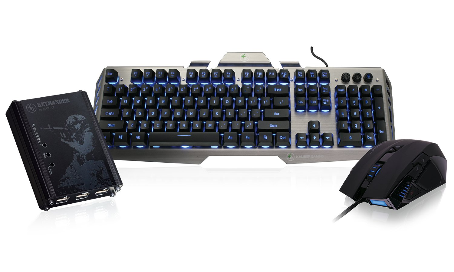 03e7d7a43e5 Amazon.com: IOGEAR KeyMander Performance Kit- Includes keyboard, mouse and  adapter for Xbox One, PS4, PS3, Xbox 360 (GE1337PKIT2): Computers &  Accessories