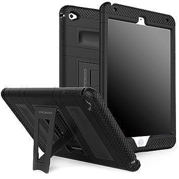 MoKo Funda para iPad Mini 4 - Plegable Silicona Durable Protector con Función de Soporte Trasera Dura Cover Case para Apple iPad Mini 4 7.9 Pulgadas ...