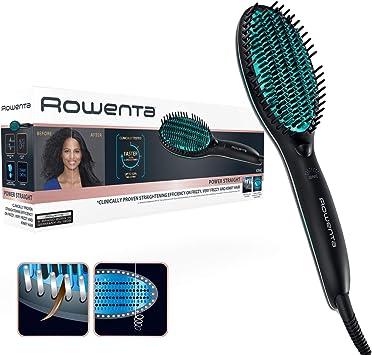 Comprar Rowenta CF5820F0 Power Straight Cepillo especial para cabello muy rizado, con generador de iones y temperatura regulable hasta 200