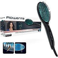 Rowenta Cepillo alisador Power Straight CF5820 - Cepillo especial para cabello muy rizado, con generador de iones y…