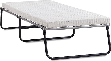 lane foldaway guest bed folding steel frame with gel memory foam mattress 2u0026quot