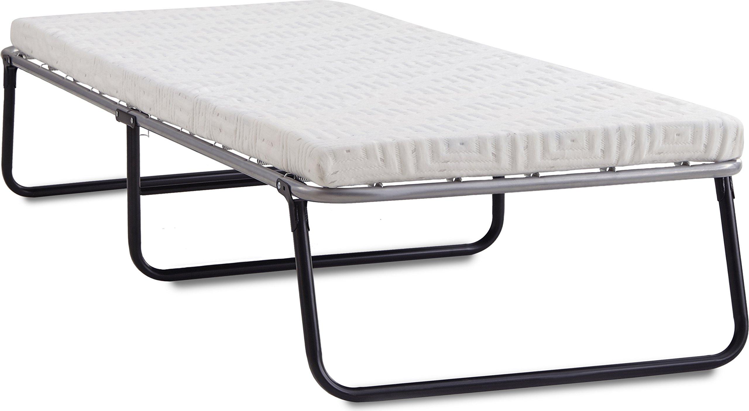 Broyhill Foldaway Guest Bed: Folding Steel Frame with Gel Memory Foam Mattress, 3'' Twin